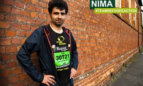 Nima is running for Refugee Action in the 2014 Bristol Half Marathon