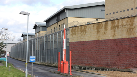Immigration Detention Centre building