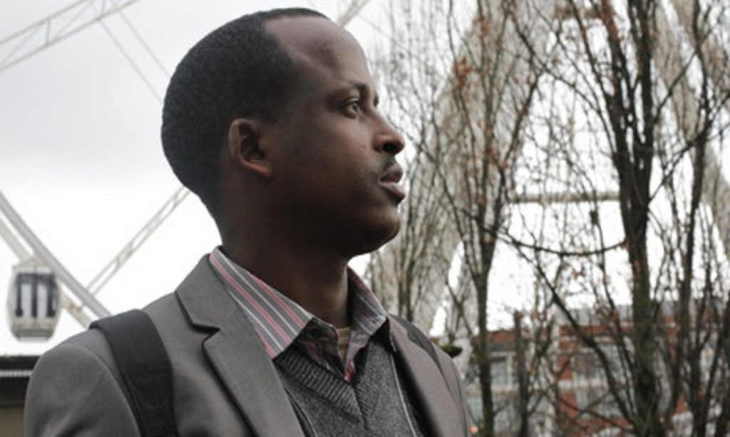 Photo of Abdi, a refugee from Somalia