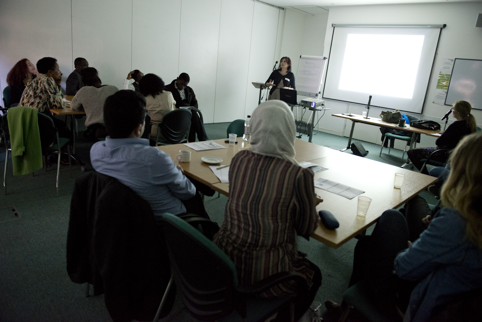 Picture showing a Refugee Action training session