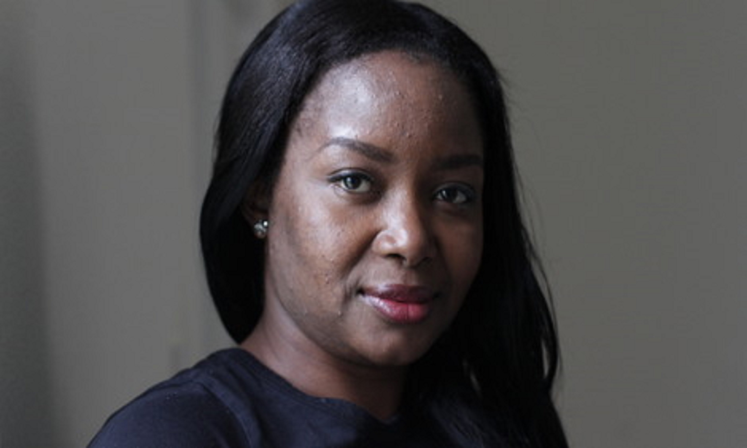 Portrait photo of Clara, an asylum seeker from West Africa